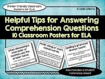 Novel Study - Chapter Response Tips
