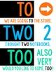 ELA Posters >> a growing bundle!