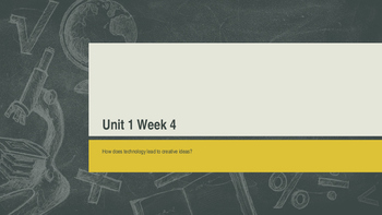 Unit 1 Week 4 Power Point Presentation Mc Graw Hill ELA Wonders Book