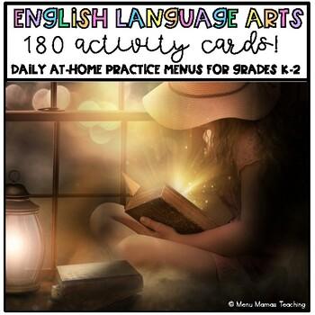 ELA Practice Menus