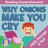 High-Interest FREE ELA Practice Test - Why Onions Make You