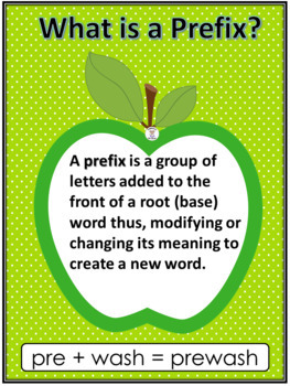 Prefix and Suffix Apples