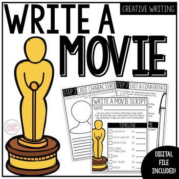 ELA Project: Write Your Own Movie Script