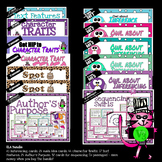 Reading QR Bundle: Character Traits, Inferencing, Text Features, Main Idea, etc.