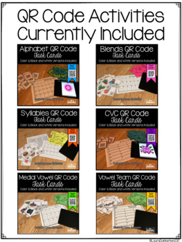 ELA QR Code Activity Bundle