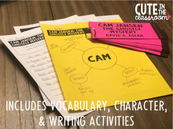ELA Quick Reading Guide: Cam Jansen The Ghostly Mystery