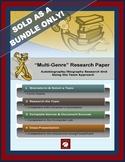 "RESEARCH PAPER (ELA):  OPTION #1 – ""Multi-Genre Team Research Project"""