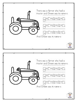 ELA- Reader- Color words-There was a Farmer