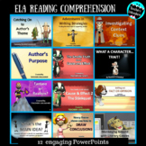 ELA Reading Comprehension PowerPoint Bundle