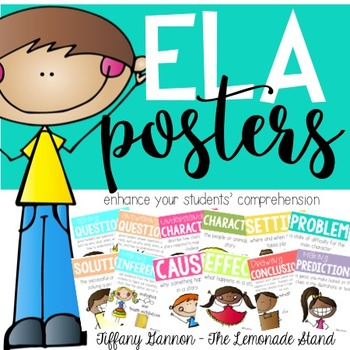 ELA Reading Comprehension Posters