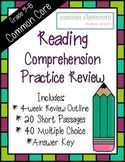 Reading Comprehension Practice