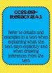 4th grade ELA Common Core Standards Posters