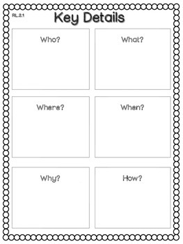 ELA Reading Literature AND Informational Text: Graphic Organizers