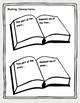 ELA Reading Literature Novel Graphic Organizers Templates for ANY NOVEL