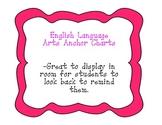 ELA Reading Strategies Anchor Charts