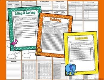 ELA Reading & Writing Mega BUNDLE-Narrative & Informational Writing {CC Aligned}