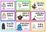 {ELA} Reading in Voices Cards