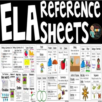 ELA Reference Pages