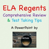 Common Core ELA Regents Review and Test Taking Tips - Comp