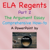 Common Core ELA Regents Review - Part 2 - How to Write the
