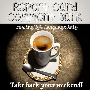 ELA Report Card Comments