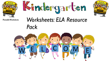 ELA Matching Activity Resource Pack 1