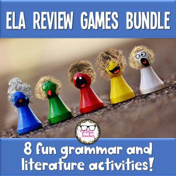 ELA Review Activities & Games Bundle