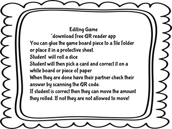 ELA Review Camping Games
