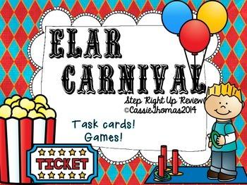 ELA Review {Carnival Theme}