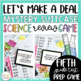 ELA Review Game Math Review Game Science Review Game for Fourth and Fifth Bundle