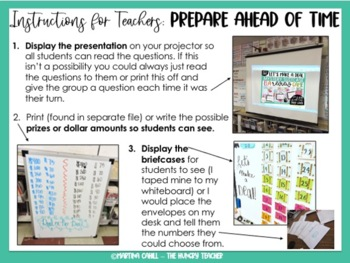 ELA Review Game for 6th Grade ELA Test Prep (Common Core Aligned)