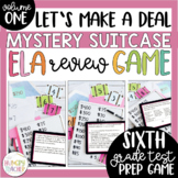 ELA Review Game for 6th Grade ELA Test Prep Common Core Aligned
