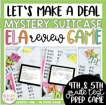 ELA Review Game for ELA Test Prep {4th and 5th Grade CCSS Test Prep}