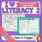 ELA Review for Morning Work Test Prep Spiral Review Print