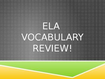 ELA TEST PREP REVIEW 4th/5th Grades - Oklahoma Academic Standards & Common Core