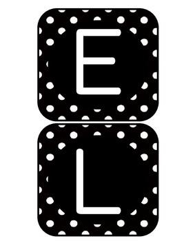 ELA Rotations Bulletin Polka Dot