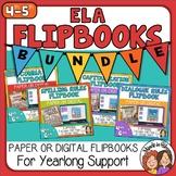 ELA Rules Flipbook BUNDLE - Paper-based or Google Slides