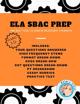 ELA SBAC Complete Preparation
