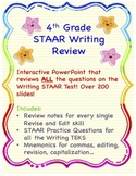 4th grade Revise and Edit STAAR Review, Grammar Review