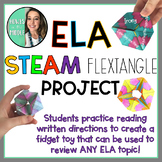 ELA STEAM CHALLENGE - FIDGET TOY - REVIEW ACTIVITY - Editable!