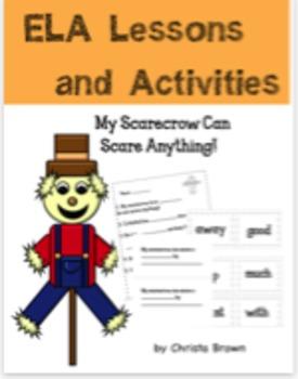 ELA Scarecrow Activities