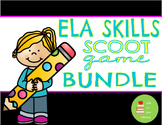 ELA Scoot Game Bundle! Punctuation, Vowel Teams, Contractions, Fact Opinion, etc
