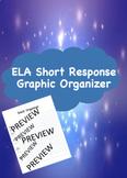 ELA Short Response Graphic Organizer