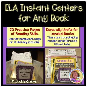 #StartFreshBTS ELA Instant Centers for Any Books