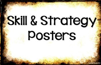 ELA Skill & Strategy Posters