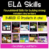 ELA Skills Bundle   ELA Test Prep