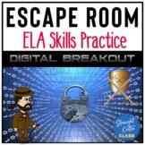 ELA Skills Digital Escape Room   Google Classroom   Distan