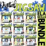 ELA Skills Digital Jigsaw BUNDLE for Google Forms™