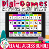 ELA Skills Digital Review Games ALL Access Bundle | Distan