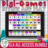 ELA Skills Digital Review Games ALL Access Bundle | Distan